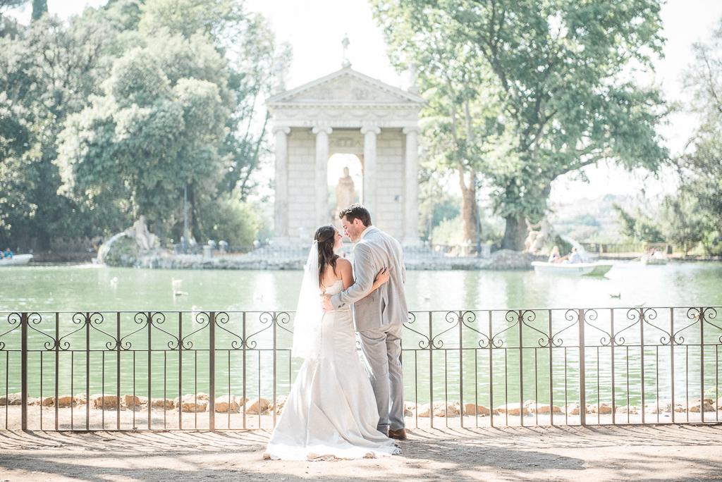 Intimate Rome Wedding