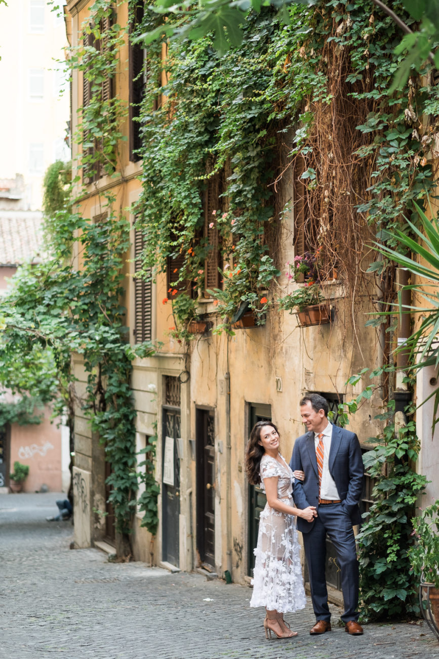 Rome pre-wedding photographer