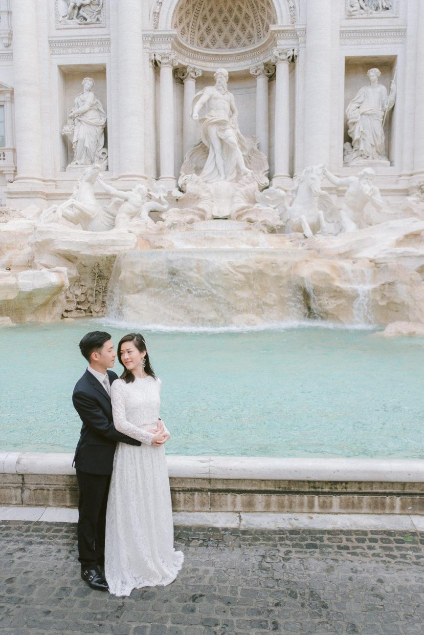 Rome pre wedding shoot